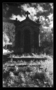 Cemetery (Kodak hyspeed infrared)