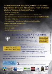 foire de la Madeleine Montessouiou
