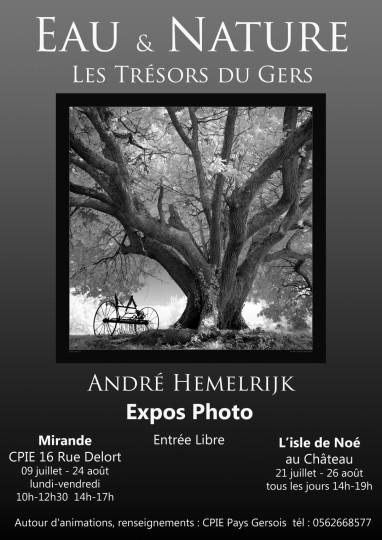 CPIE affiche 2018 Eau & Nature expos André Hemelrijk