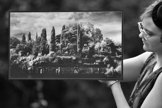 Les jardins d'Albilone 30x52 cm